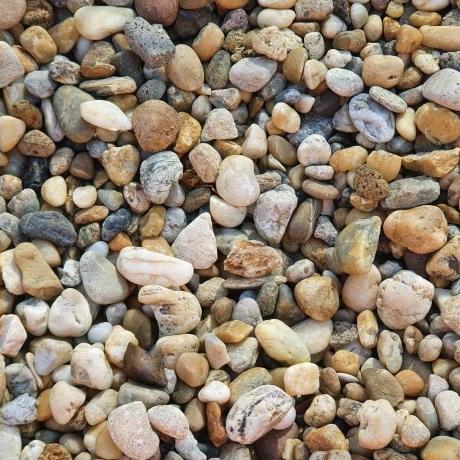 Gyöngykavics 8 - 16 mm  Big Bag  0,35 m3 mosott