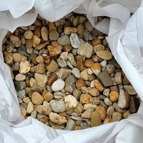 Mosott kulé kavics 24 - 40 mm Big Bag 0,7 m3