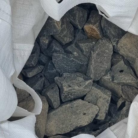 Bazalt zúzott kő 50-250 mm  Big Bag 0,35 m3