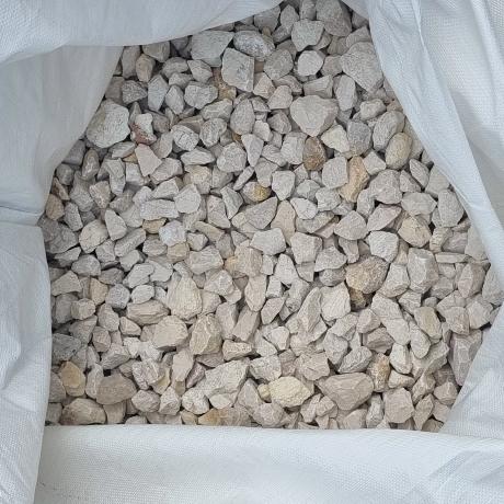 Fehér zúzott kő 20 - 55 mm  Big Bag  0,35 m3