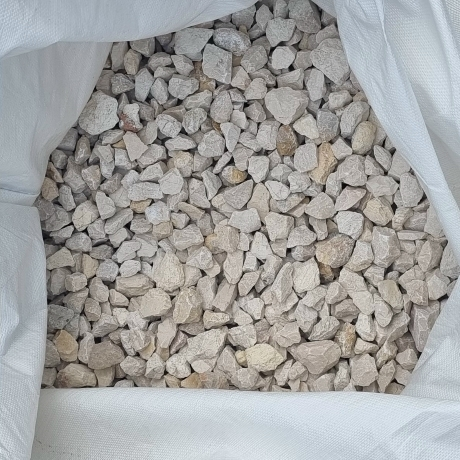 Fehér zúzott kő 20 - 55 mm   Big Bag 0,7 m3