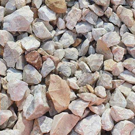 Fehér zúzott kő 55-110 mm Big Bag 0,7 m3