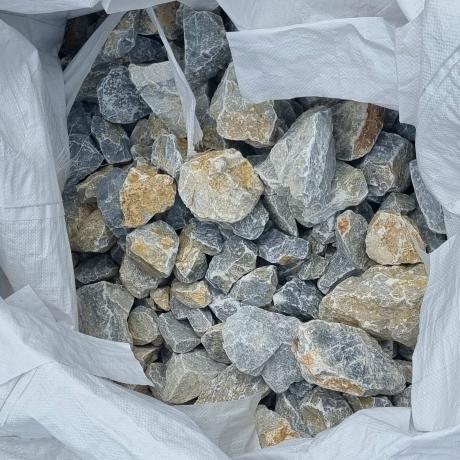 Kékesszürke zúzott kő 50-150 mm ZSÁKOS