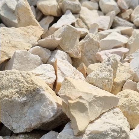 Fehér zúzott kő 20 - 55 mm - 25 kg ZSÁKOS