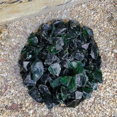 Zöld üvegszikla MÉRŐS (kg)