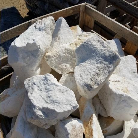 Hófehér Thassos szikla MÉRŐS (kg)